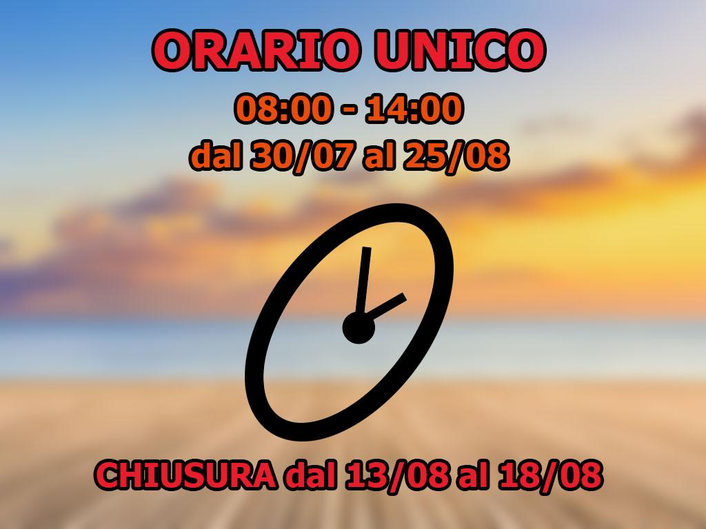 ORARIO-UNICO